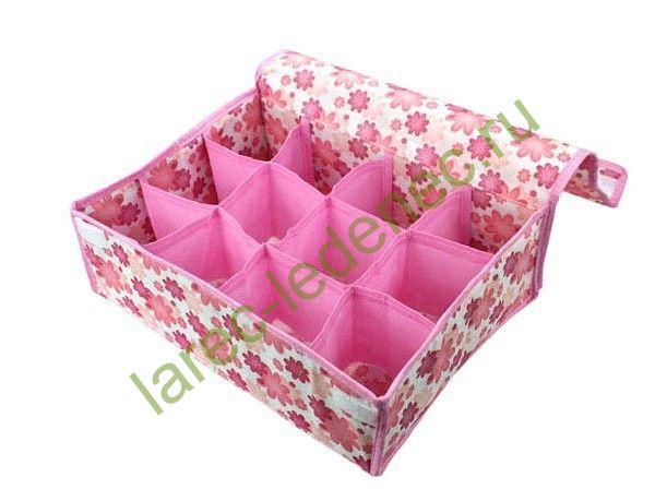 Коробка складная тканевая своими руками